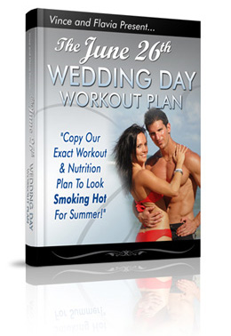 June wedding day workout plan
